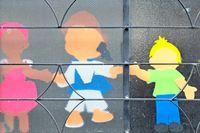 Kindergarten Pappfiguren