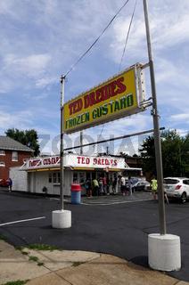 Ted Drewes Custard, Milchshake Legende an der Route 66,St. Louis,Missouri