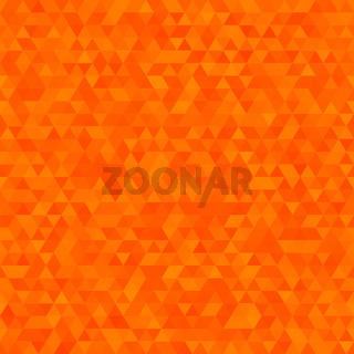 Polygonal vector triangular shining background. Modern geometrical abstract seamless pattern.