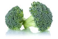 Brokkoli Broccoli frisch Freisteller freigestellt isoliert