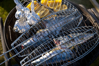Fische grillen