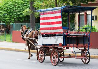 Pferdekutsche in Varadero Kuba