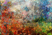 Board stained oil painting, abstract background