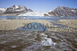 Berge, Gletscher, Sermiligâq-Fjord