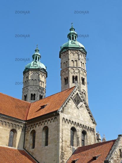 Die Osttürme des Doms in Naumburg