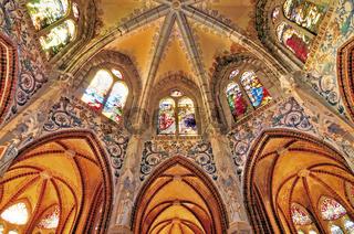 Kapelle des Bischofspalastes in Astorga, Spanien