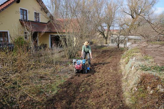Foto Boden Frasen Soil Tilling Bild 5059496