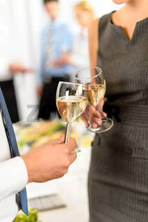 Cheers to business successful cooperation