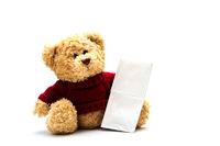 Teddy mit Taschentuch