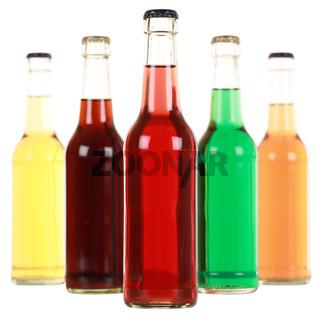 Getränke in Flaschen