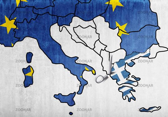 Cut of Greece