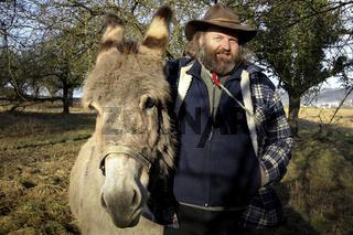 Der Hirte und sein Esel
