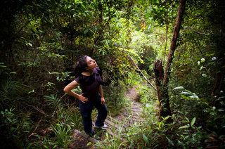 Woman Jungle Hiker