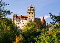 Burg Kirchenburg bran rumänien