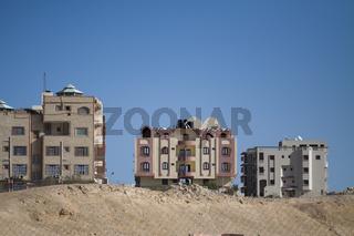 Ägyptische Wohn häuser