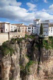 Very famous bridge in Ronda