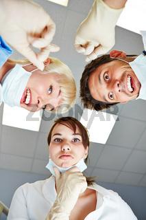 Team von Zahnärzten hat eine Idee