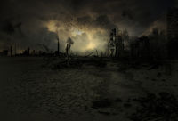 Background - apocalyptic scenario