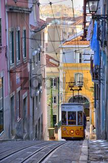 Elevador da Bica, Lisbon, Portugal