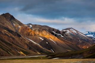 rangy landscape at Landmannalaugar, Iceland