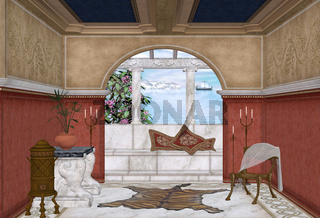 mediteran room
