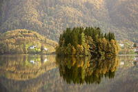Herbst in Norwegen