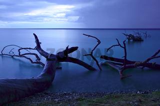 Nächtliche Ostsee