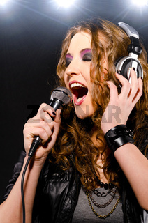 singing rock music