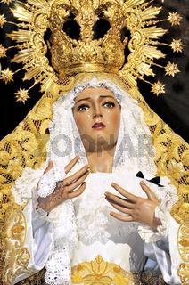 Spanien: Maria de los Dolores in Cáceres