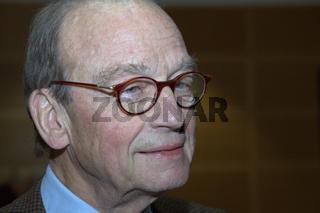 Günter Grass im Gespräch mit Sigmar Gabriel, SPD Veranstaltung