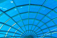limpid round ceiling inside business office