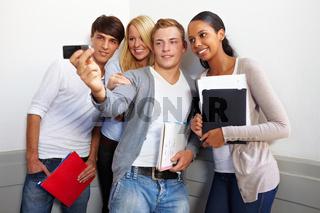 Gemeinsames Gruppenfoto