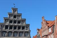 Treppengiebel in Lüneburg, Am Sande