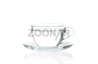 Cup with water