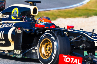 Team Lotus Renault F1, Romain Grosjean, 2012