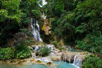 Kuang Si Wasserfall, Luang Prabang / Laos