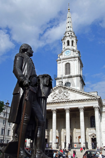 St. Martin in the Fields-Kirche beim Trafalgar Square in London