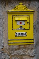 Historischer Postkasten, Soller, Mallorca