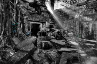 Tempelanlage Ta Prohm in Kambodscha