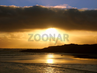 Sunset in Warrnambool Australia
