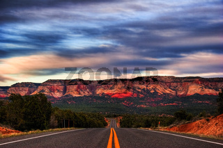 Landscape of Utah state. USA