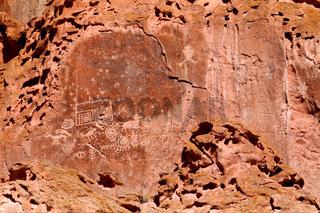 Fremont Indian State Park Petroglyphs