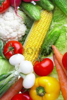 vegetables. Healthy food