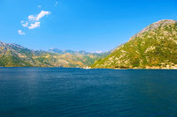 Kotor Bay in Montenegro
