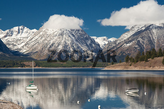 Jenny lake at Grand Teton National Park, Wyoming, USA