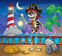 Lighthouse theme image 8 - picture illustration.