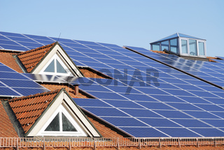 Roof With Photovoltaic System