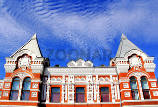 Historic drama theater in Samara