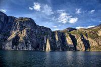 Kliff am Lysefjord