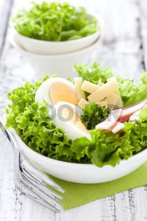 frischer Chefsalat